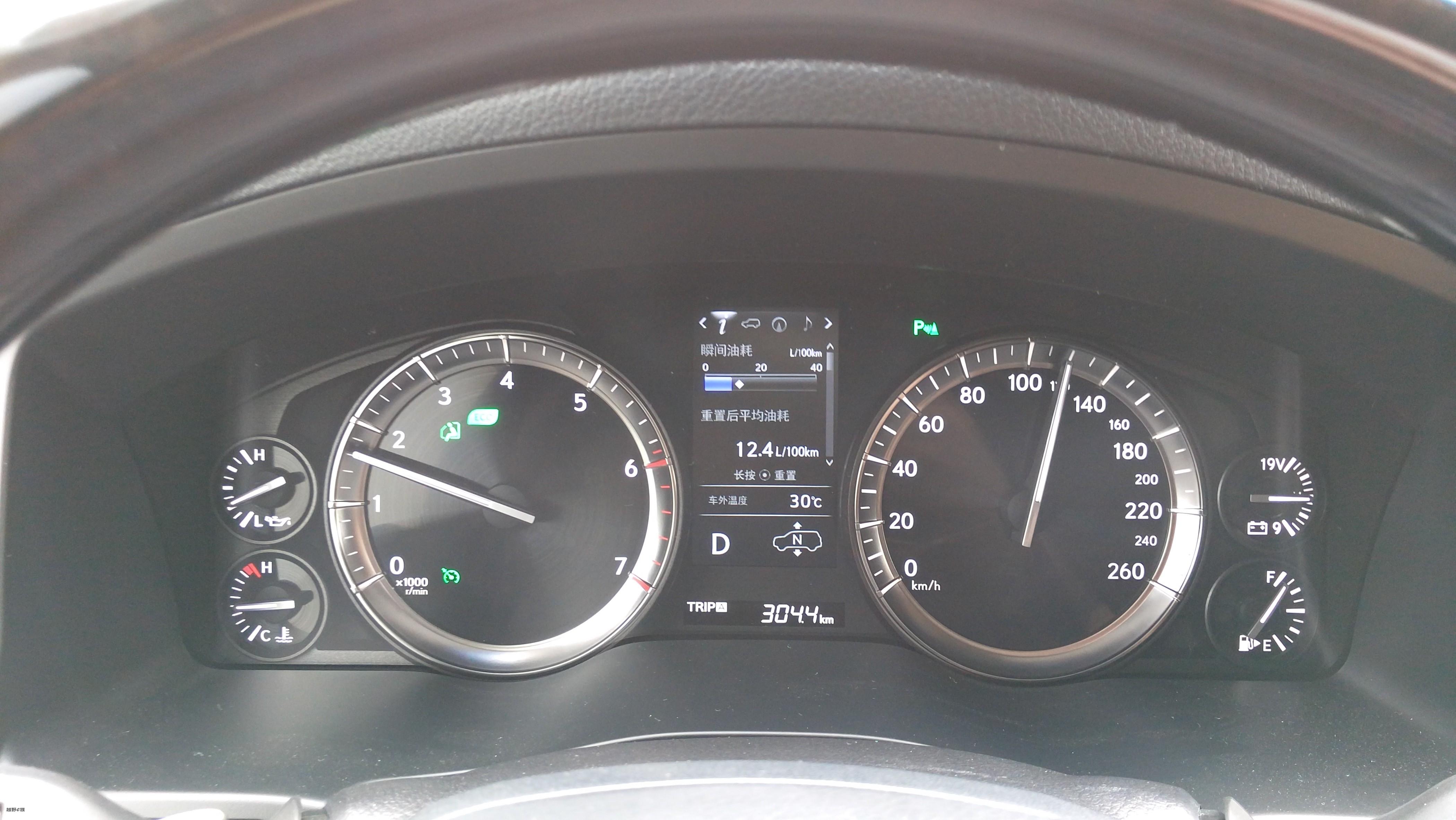 120km时速下,发动机转速不倒1700转