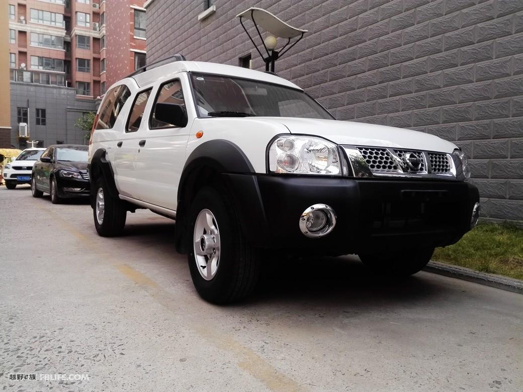 郑州日产尼桑np300和帕拉丁一样新新车