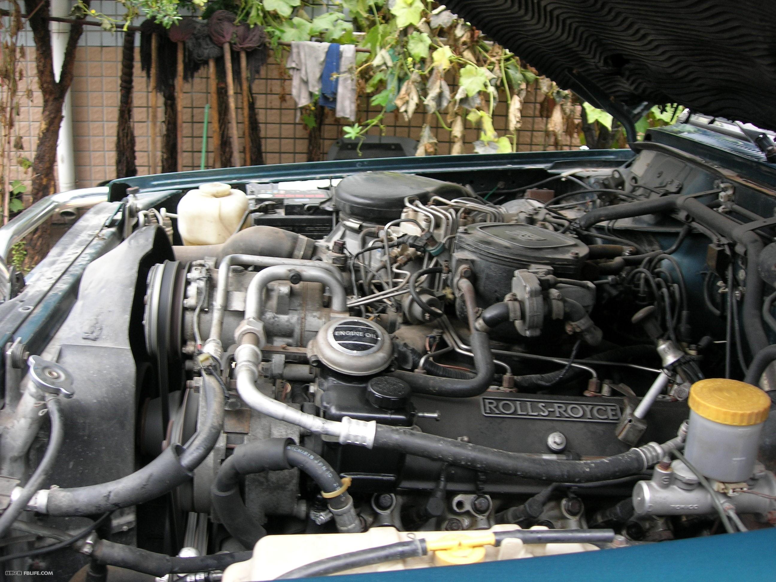 汇报:劳斯莱斯发动机改装途乐y60的大致过程(之二更新