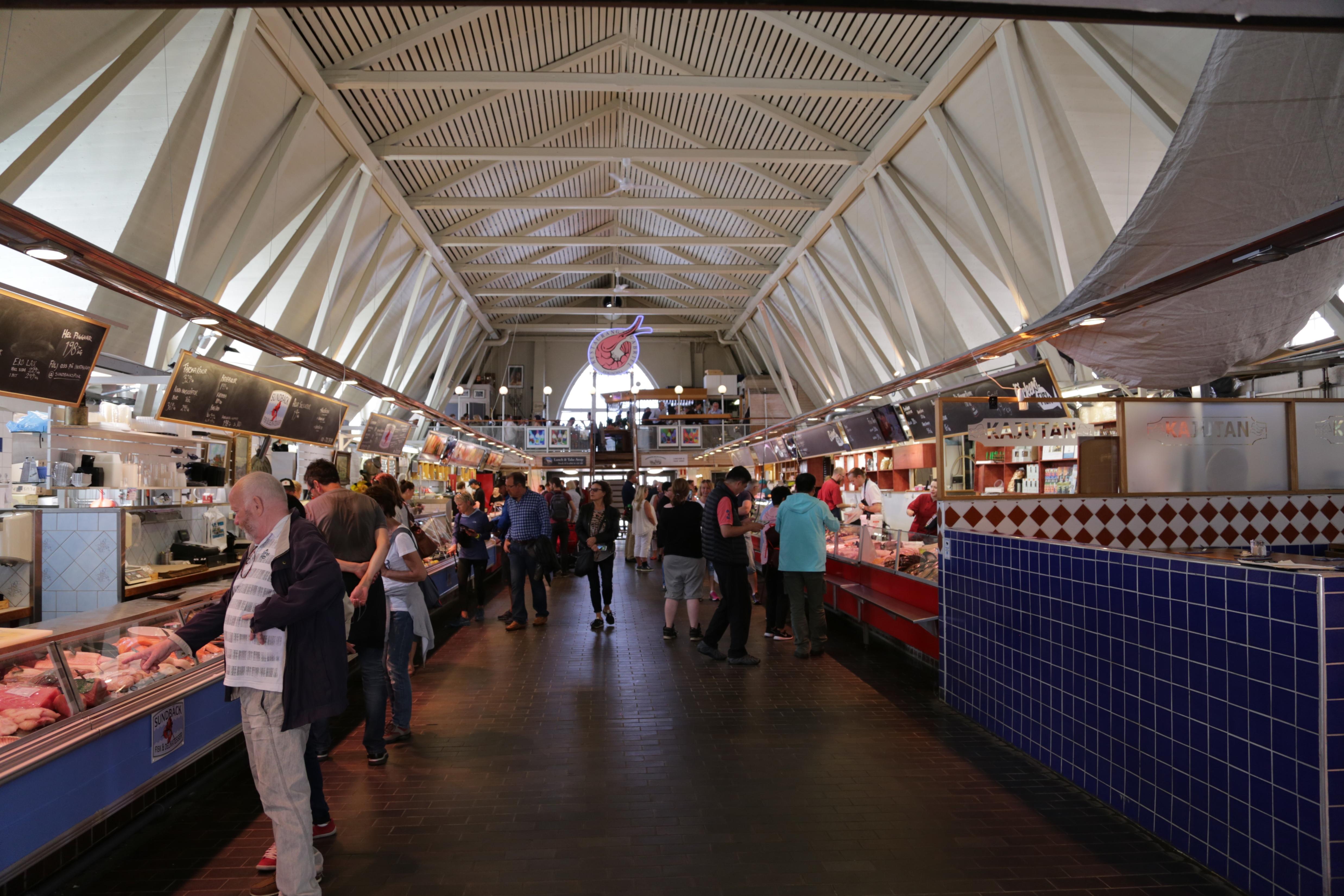 哥德堡海鲜市场
