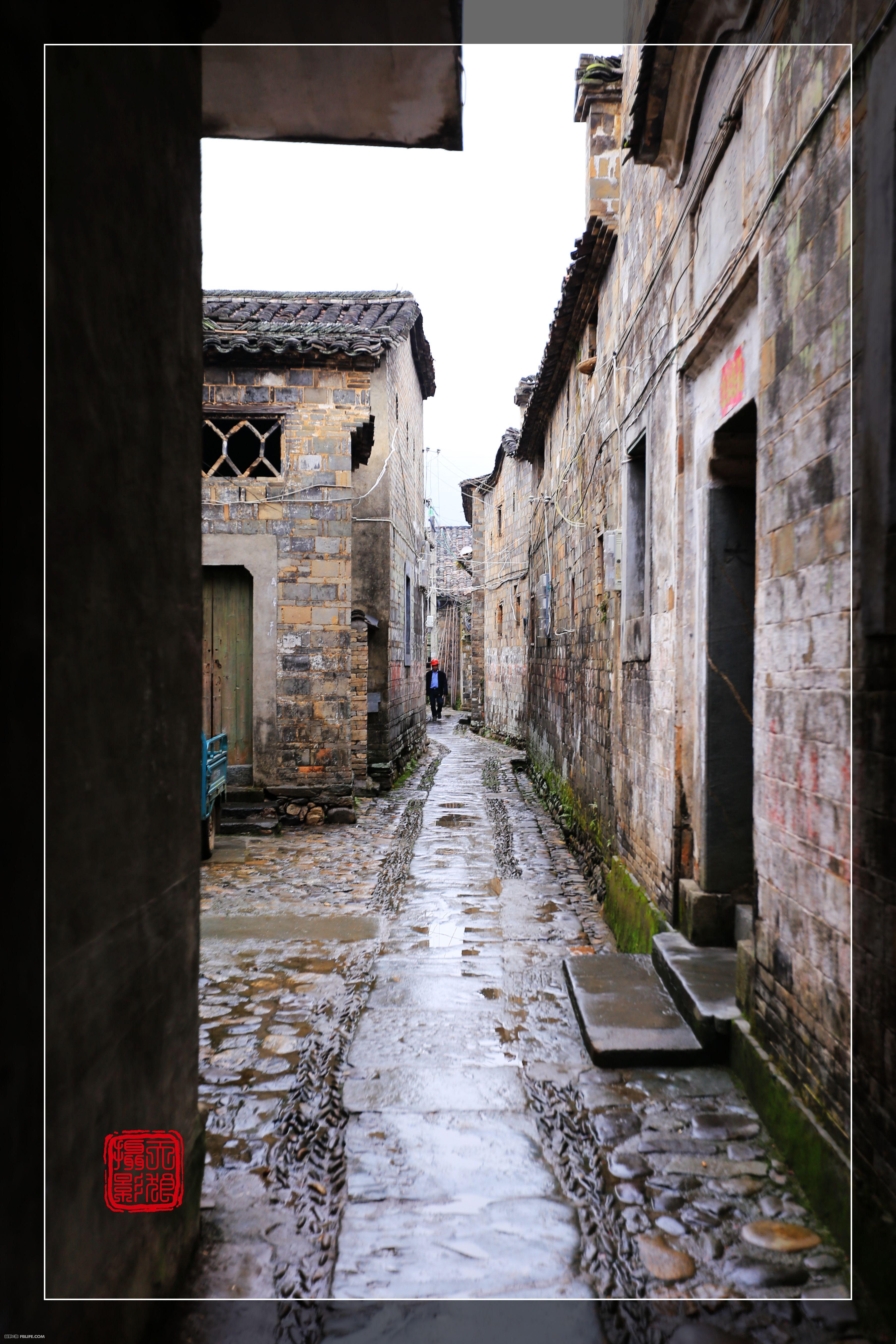 壁纸 风景 古镇 建筑 街道 旅游 摄影 小巷 3555_5333 竖版 竖屏 手机